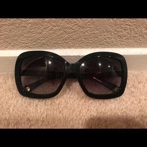 Used D&G Oversized Black Sunglasses